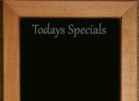 Oak Frames Black Boards