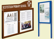Outdoor Notice Boards & Poster Cases