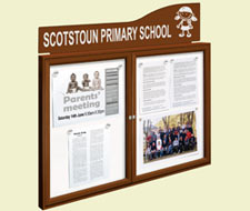 Traditional Notice Boards