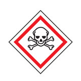 GHS label toxic