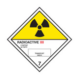 GHS label radioactive