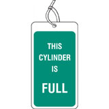 Cylinder full label