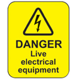 Live Electrical Equipment