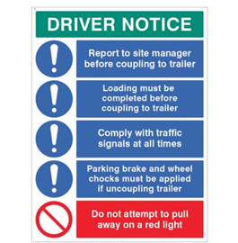 Driver Notice