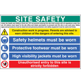 Multi-purpose  construction signs