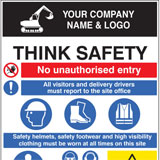 Personalise your site safety sign boards