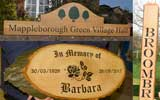 See a selection of wooden signs we have made
