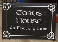House Name Plates The Sign Maker