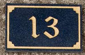 House Numbers & Marble u0026 Granite House Number Signs - Door Numbers | The Sign Maker