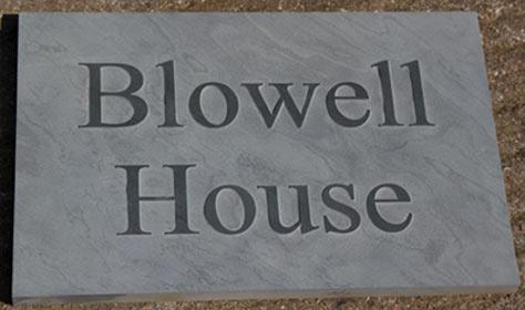 Modern Slate House Signs Raised Lettering The Sign Maker