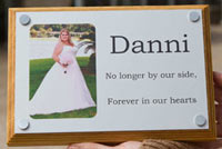 Very durable and long lasting full colour memorials.