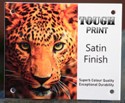 Superior printed signs in full colour