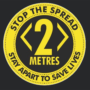 Stop the Spread - Stay Apart to Save Lives