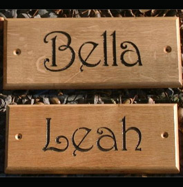 Horse Name Plates