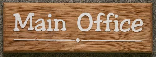 Oak Wood Signs ~ Wooden house signs oak name plates wood posts the