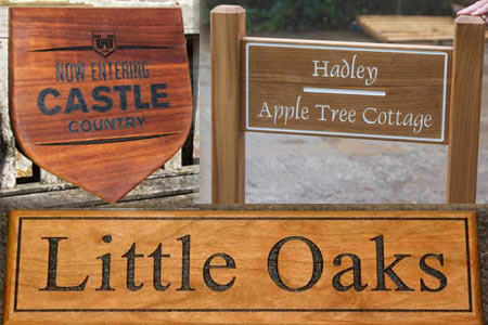Wooden House Signs Large Wood Signs Name Plate The Sign Maker