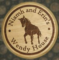 Round Wooden Plaques