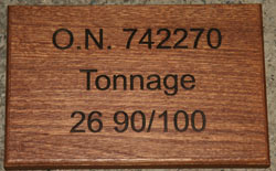 Engraved Wooden Sign